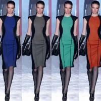 harga Red Black Dress Gaun Wanita Import Fashion Pakaian Baju Merah Hitam Tokopedia.com