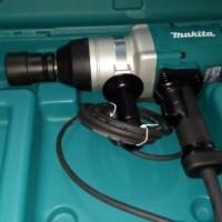 Mesin Impact Wrench Listrik Makita TW 1000 Buka + Pasang Baut M30/46mm