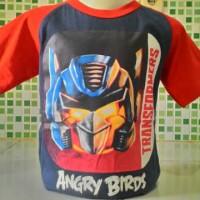 Kaos anak angry transformer