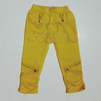 Celana Mote Cantik 7/8 - Kuning - Uk. 7 - 15 Untuk Us. 2 - 6 Tahun