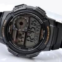 jam tangan casio ae1000w-1a digital army look murah bergaransi resmi