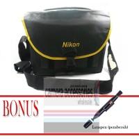 = PROMO = Tas Sandang Nikon 414N + Bonus Alat pembersih Lenspen