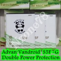 Baterai Advan Vandroid S5F S5-F Rakkipanda Double Power Protection