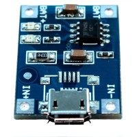 Kit Charger Micro USB to Lithium Battery Output 5V 1A TP4056 BB-13B