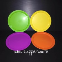 Tupperware Round Kids Plate Set of 4 (rare collection)