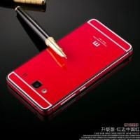 Aluminium Case Xiaomi Redmi 2 Ori (iphone 6 Style) - Red