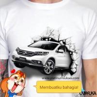 HONDA CRV WHITE - Kaos 3D Umakuka