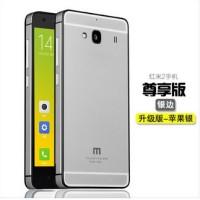 harga Aluminium Case Xiaomi Redmi 2 Ori 100% (iphone 6 Style) - Grey Tokopedia.com