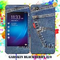 Garskin Blackberry Z10 Original - Levis / Custom