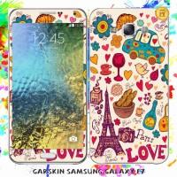 harga Garskin Samsung E7 Original - Love Paris / Custom Tokopedia.com
