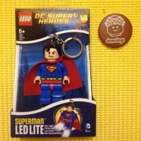 Lego Original LED Keychain Superman
