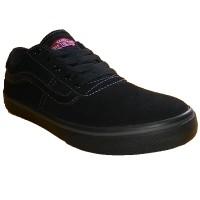 VANS OFF THE TOP - Nitro Black/Grey, Sepatu Sekolah