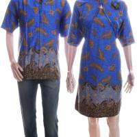 harga Baju Batik Couple Semisutra Model Dress - Mustika Tokopedia.com