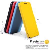 Nillkin Fresh Leather Case Htc Desire 300 Yellow