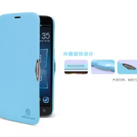harga Nillkin Fresh Leather Case Lenovo A850 Blue Tokopedia.com