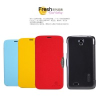 Nillkin Fresh Leather Case Lenovo A850 Red