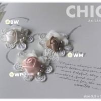 Handmade brooch - bros - CHIC series - simply