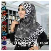 Syria Luxury Glamour / Jilbab Instan Syiria Luxury Glamour