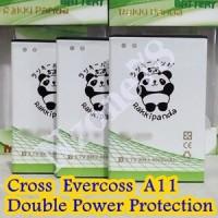 Baterai Cross Evercoss A11 Rakkipanda Double Power