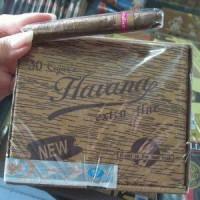Cerutu Havana ( 1 Box isi 30 batang )