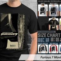 Kaos Film Vin Diesel Fast N Furious 7 Movie 2 BV