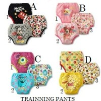 TRAINNING PANTS 3IN1