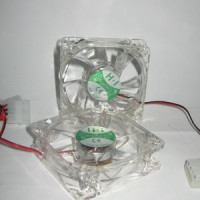 FAN CASING 8 CM TRANSPARAN LAMPU