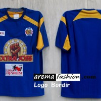 Jersey Arema Klasik 2005 ISL Logo Bordir