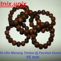 harga Gelang Galih Ulin Manang Timbul @ Faceted Diamond 16 Mm (kayu Tuah) Tokopedia.com