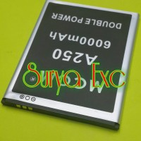 Baterai Battery Mito A250 Double Power 6000mAh
