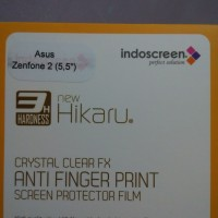 Asus Zenfone 2 5.5 Anti Gores Afp Clear, Screen Guard Protector