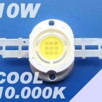 Led Hpl Luxeon 10 Watt 10.000k Cool White Emitter 1000lm Taiwanepistar