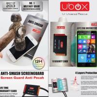 Anti Gores Ubox Anti-Smash 0.25mm Screen Guard Nokia XL - XL Dual