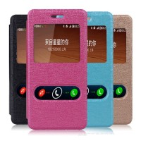 Taff Leather Flip Dual Window Case Asus Zenfone 5