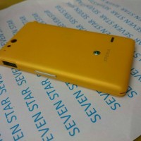 Casing Sony Xperia Go St27 Kuning