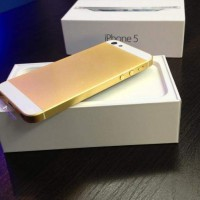 APPLE IPHONE 5 32GB GOLD ORIGINAL GARANSI DISTRIBUTOR 1 TAHUN
