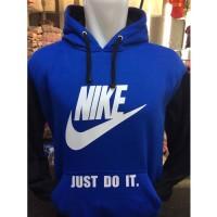 Jaket Hoodie Nike Just Do It Jumper Sweater Bola #Kaos Distro Bandung