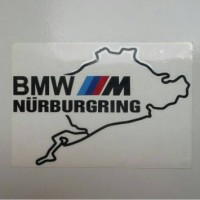 harga Sticker BMW Nurburgring Hitam (BNR1) Tokopedia.com