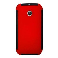 harga Max Ultra Fit Holster Protector Case For Motorola Moto E - Red Tokopedia.com