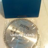 """Mata Circle / Circular Saw Blade / Potong Kayu 7"""" x 60T x 22.2mm"""