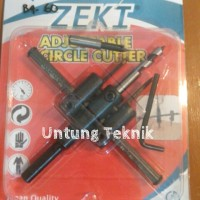 "Hole Saw Adjustable 1"" - 4"" Zeki"