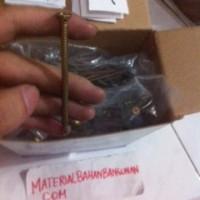 skrup gypsum dgn rangka baja ringan 3 inch diameter kpala 0,8 cm