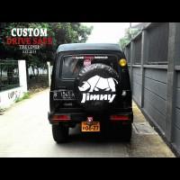 Cover Ban / Sarung Ban Suzuki Katana Jimny Bisa Custom