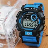 Jam Tangan Pria Digitec Original Digital Rubber Blue