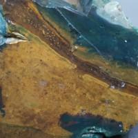 Bahan Bongkahan Batu Nagasui (NS-102) 2,8Kg Motif Gambar Pemandangan