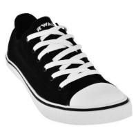 AIRWALK STAR LOW SLIM BLACK/WHITE