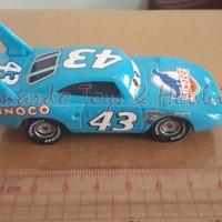 Disney Pixar Cars - King Dinoco 43 - Mattel Loose Box