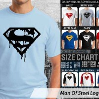 KAOS DISTRO OCEANSEVEN - SUPERMAN MAN OF STEEL LOGO