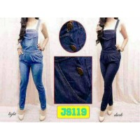 jumpsuit denim light blue
