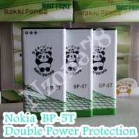 Baterai Nokia Bp5t Bp-5t Lumia 820 Rakkipanda Double Power